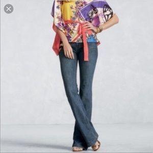 CAbi Style # 881R Dark Wash Flare Jeans